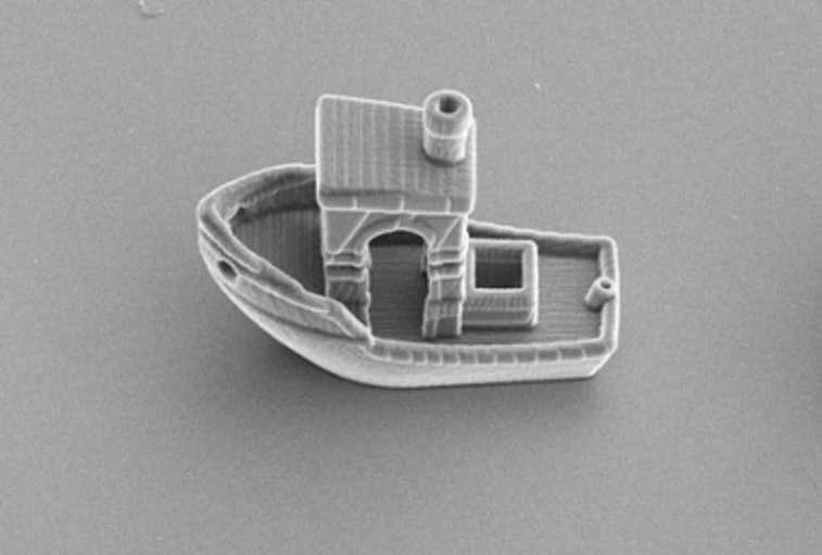 Microscopic Benchy tugboat