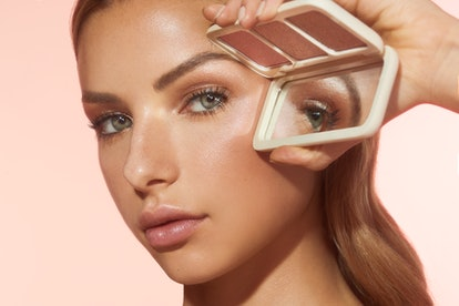 Cover FX's new highlighter can be used on your face, shoulder, and décolletage.