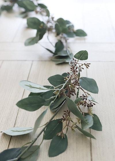 Artificial Seeded Eucalyptus Garland