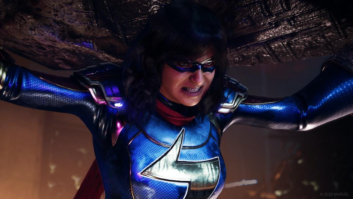 Mrs. Marvel in Marvel's Avengers.