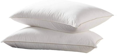 Egyptian Bedding Luxurious Goose Down Pillow (2-Pack)
