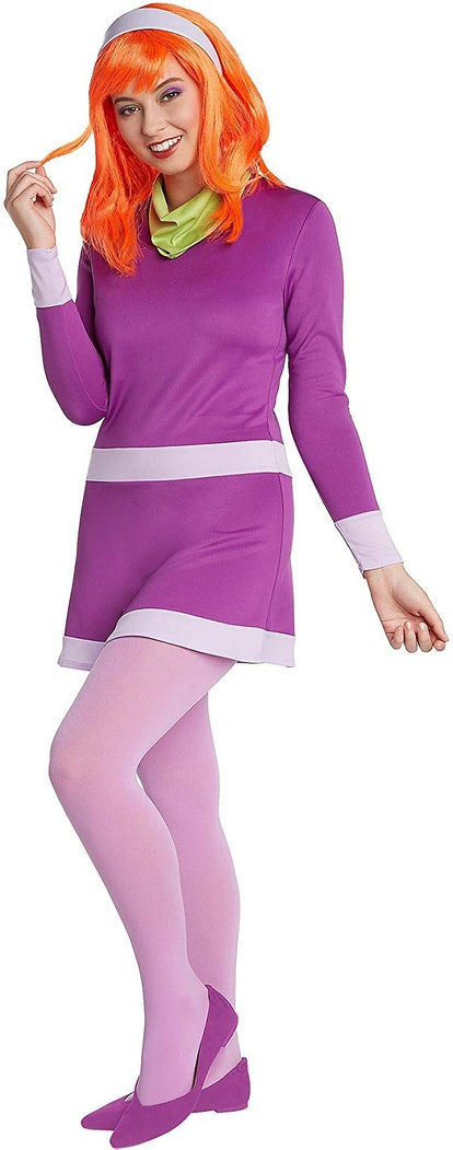 Jerry Leigh Scooby-Doo Daphne Costume for Adults, Standard Size