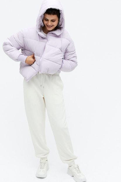 Monki Cropped Puffer Jacket