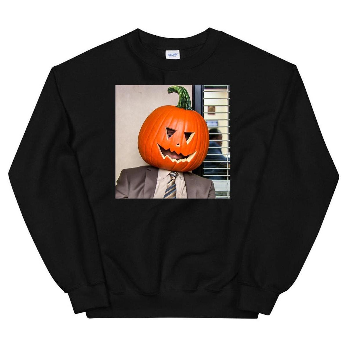The Office Halloween Pumpkin Sweatshirt