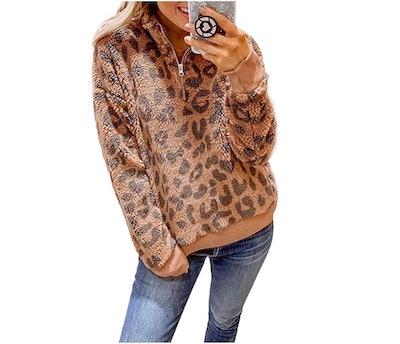 Dokotoo Fluffy Fleece Sweatshirt