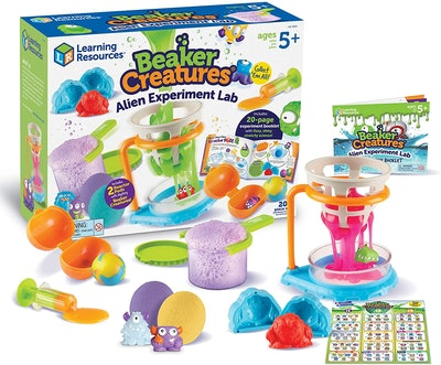 Learning Resources Beaker Creatures Alien Experiment Lab (5-10)