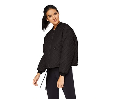Betsey Johnson Quilted Bomber Jacket