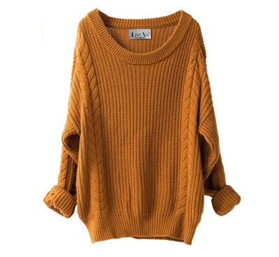 Liny Xin Oversized Knit Sweater