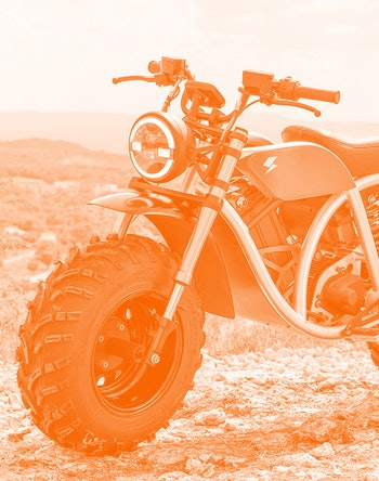 Volcon Grunt fat-tire e-motorcycle.