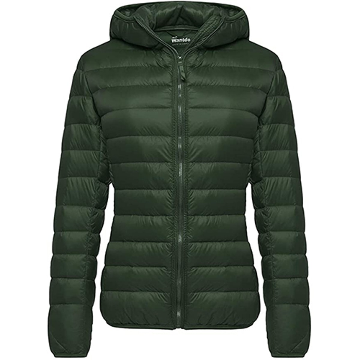 Wantdo Hooded Packable Short Down Parka