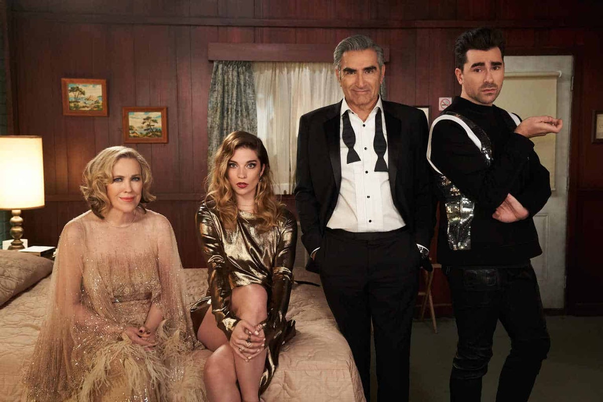 Schitt's Creek costumes are sure to be a hit on Halloween.