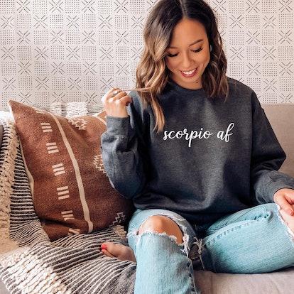 Zodiac Sign AF Sweatshirt
