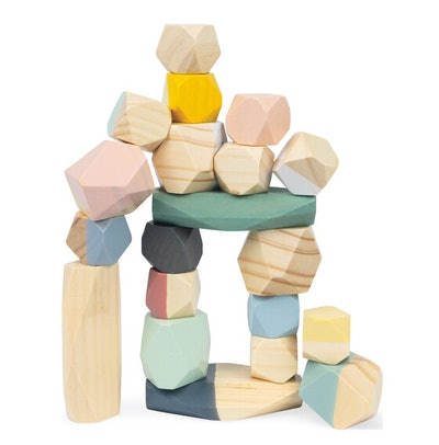 Janod 20-Piece Sweet Stacking Stones (3+)