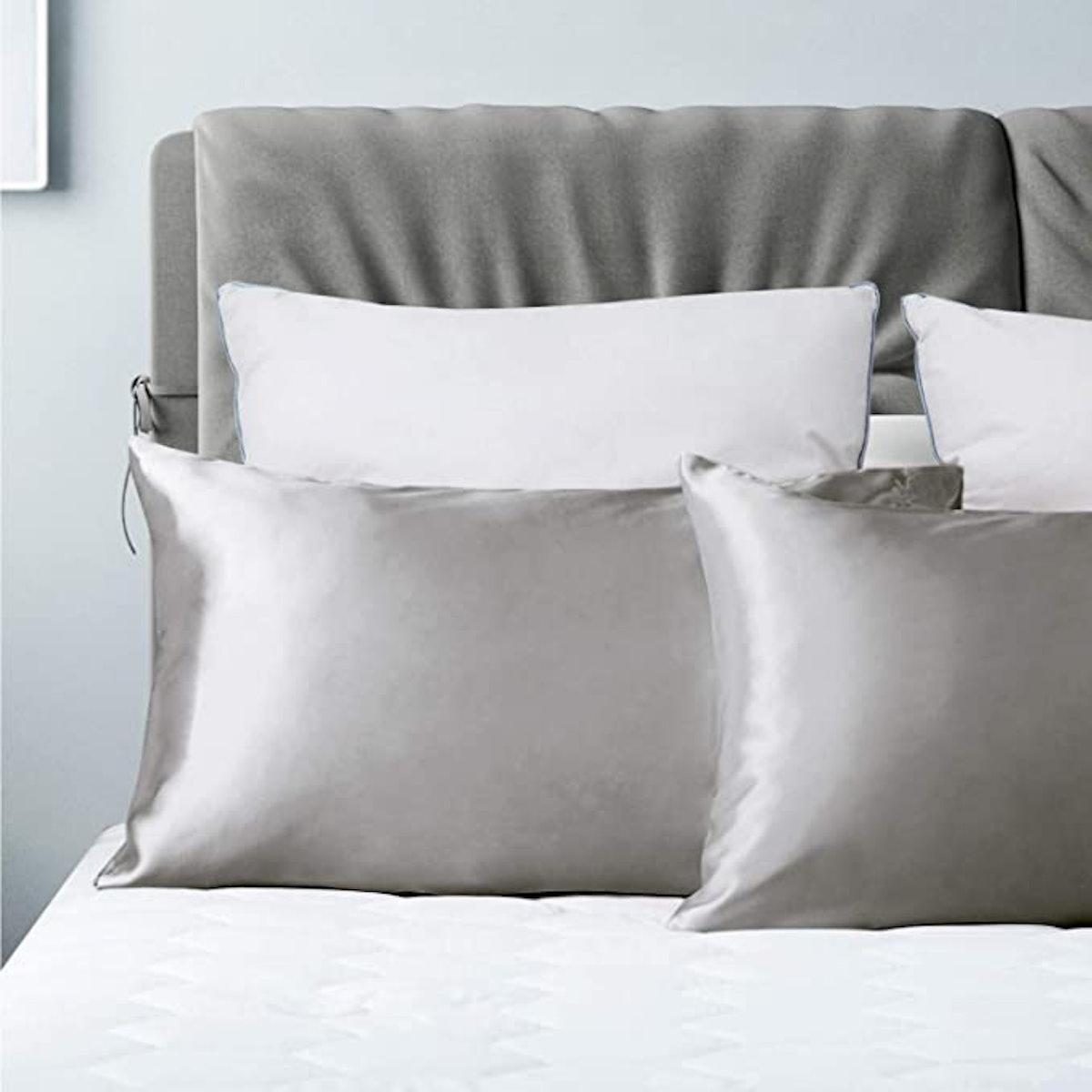 Bedsure Silk Satin Pillowcase (2-Pack)