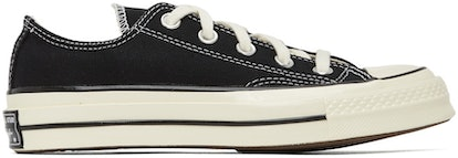 Black Chuck 70 Low Sneakers