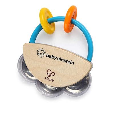 Hape X Baby EinsteinTiny Tambourine(3m+)