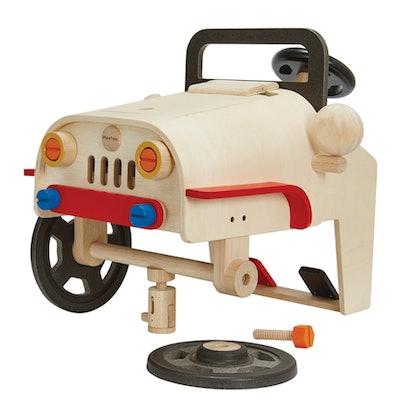 Plan Toys Motor Mechanic Play Car (4+)
