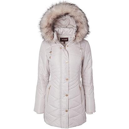 Sportoli Plush Quilted Puffer Coat
