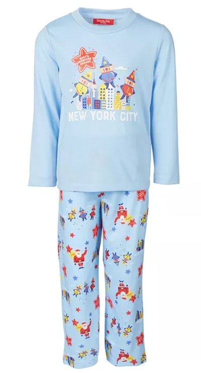 Matching Kids Macy's Thanksgiving Day Parade Family Pajama Set