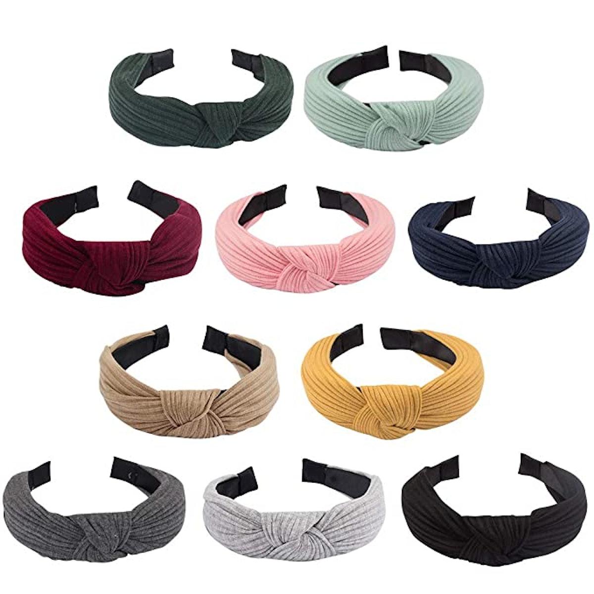 Jaciya Knotted Headbands (10 Pieces)