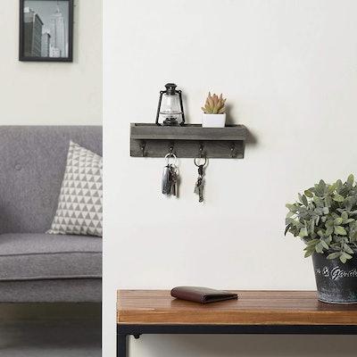 MyGift Wood Entryway Shelf