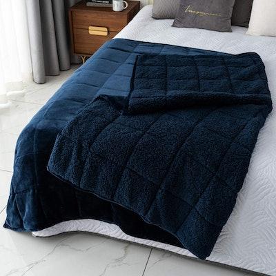 Mr. Sandman Weighted Fleece Blanket