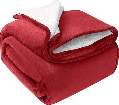 Utopia Bedding Sherpa Blanket