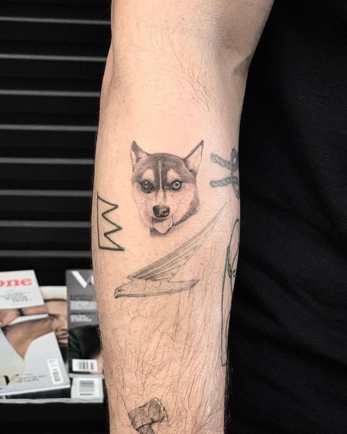 Joe Jonas and Sophie Turner have a matching tattoo of their late dog.