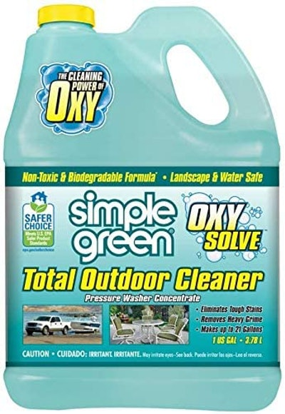 Simple Green Oxy Solve Total Outdoor Pressure Washer Cleaner (1 Gal.)