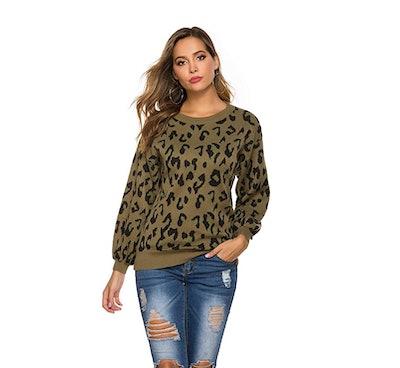 Hirate Leopard Sweater