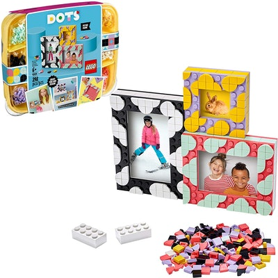 Lego Dots Picture Frames (6+)