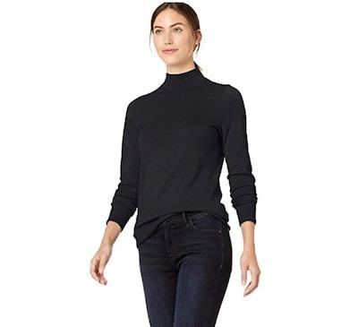 Amazon Essentials Long-Sleeve Mockneck Sweater