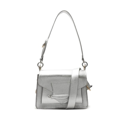 Paloma Metallic Leather Bag