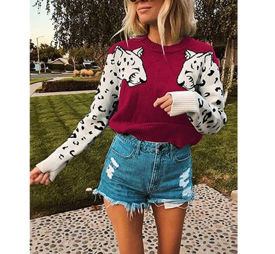 Mansy Leopard Sweater