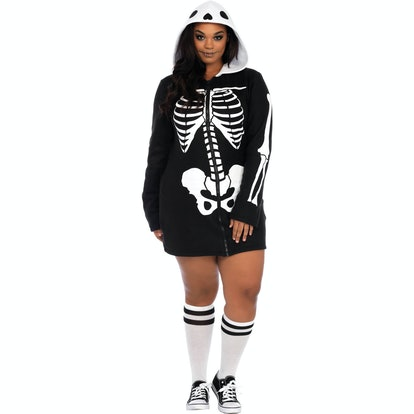 Leg Avenue Women's Plus Size Cozy Skeleton