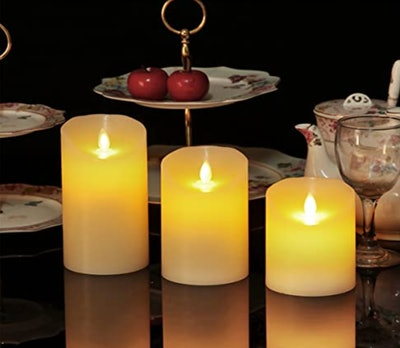 OSHINE Flameless Candles (3-Pack)