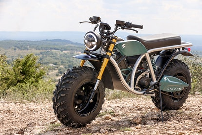 Volcon's off-road electric motorbike, Grunt, which will retail at $5,595.