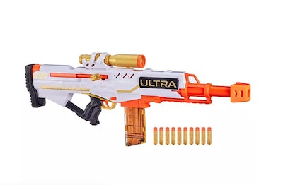 NERF Ultra Pharaoh Blaster With Limited Edition Gold Foam (8+)