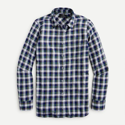 J.Crew Classic-Fit Boy Shirt in Flannel
