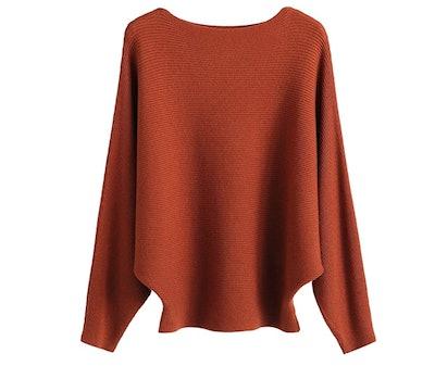 GABERLY Batwing Sweater