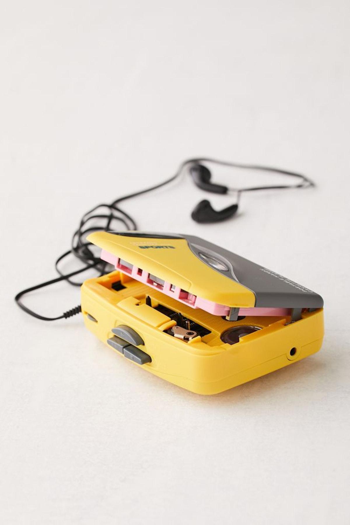 Retro Sport Portable Cassette Player