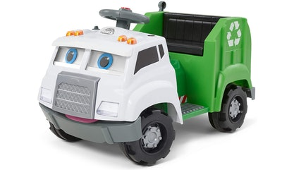 KidTrax Interactive Ride-On Recycling Truck (18m-4y)