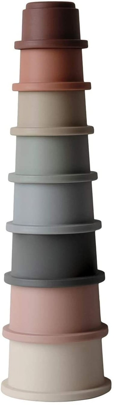 Mushie Silicone Stacking Cups (0+)