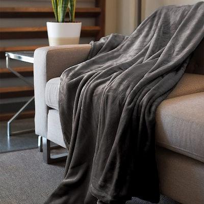 Kingole Flannel Fleece Microfiber Blanket