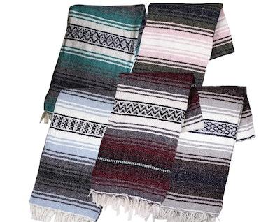 Canyon Creek Yoga Blanket
