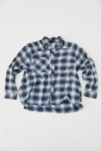 BDG Lachlan Flannel Button-Down Shirt