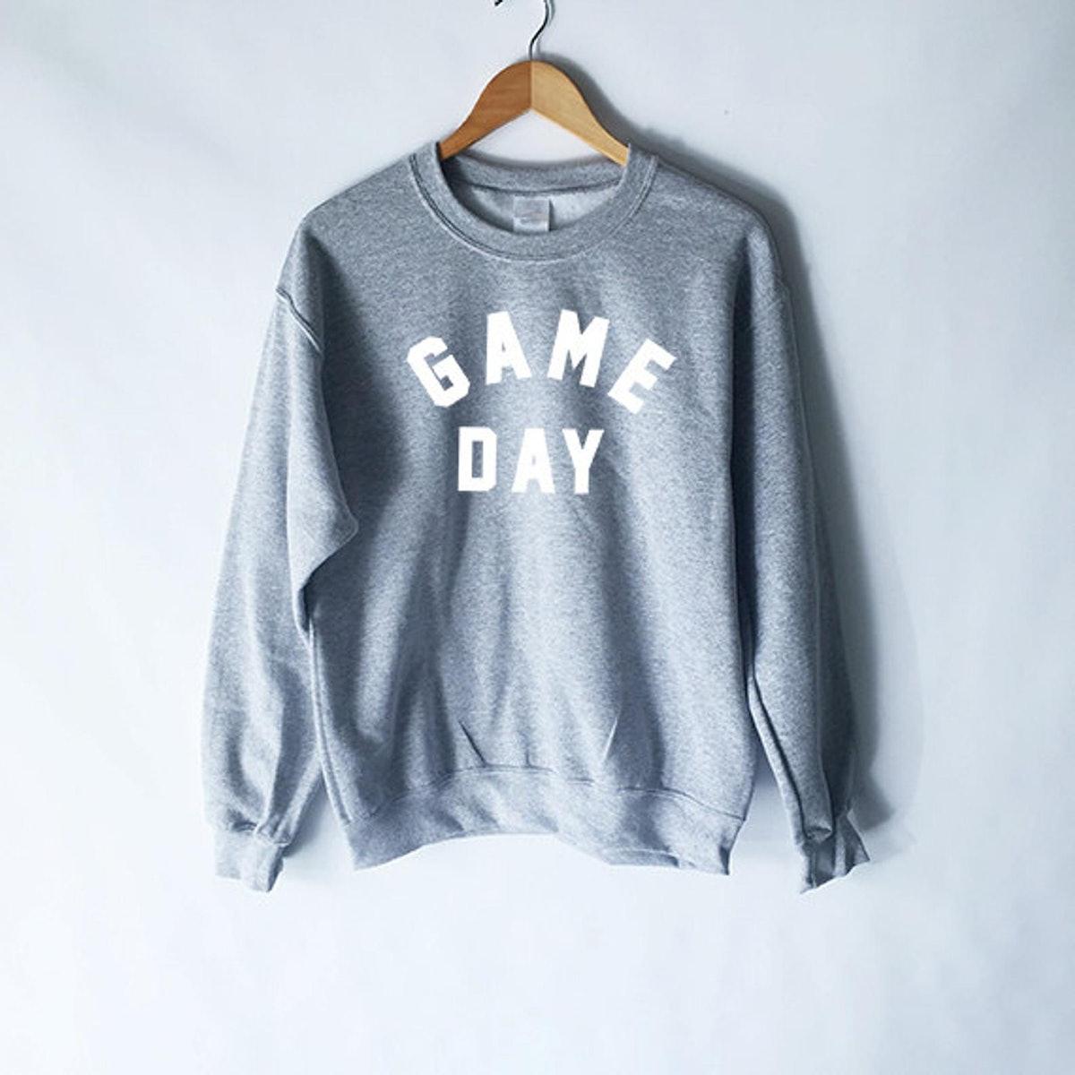 Game Day Sweatshirt Football