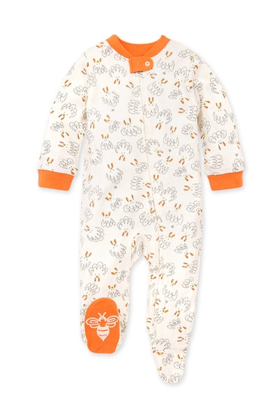 Gobble Gobble Organic Baby Loose Fit Footed Pajamas
