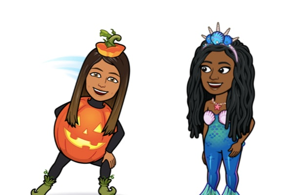 There are three new Halloween Bitmoji costumes on Snapchat.