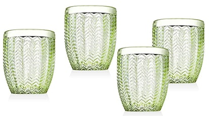 Godinger Old Fashioned Glass Cups (4-Pack)